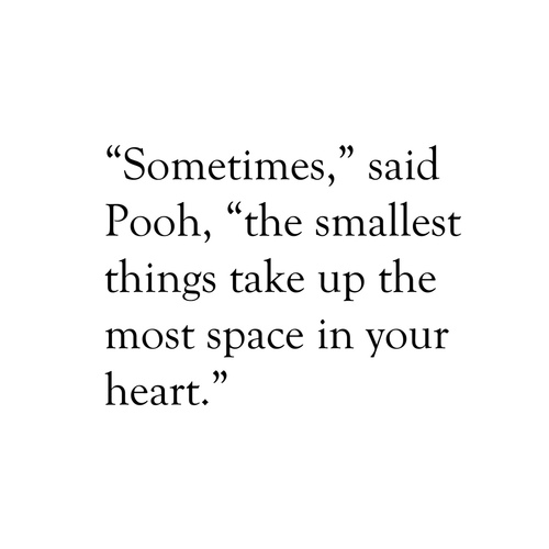 Pooh Little Things